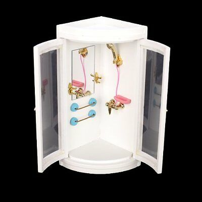 1:12 Childen Doll house Miniature Bathroom Furniture Shower Room FP5