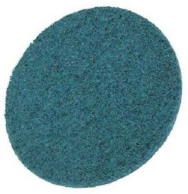 """3M 7513 3"""" Roloc Surface Conditioning Discs, Very Fine, Blue - 25 per bx"""