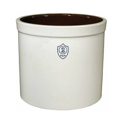 Ohio Stoneware 02436 Bristol Preserving & Storage Crock 2 Gallon Capacity