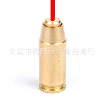 Hunting Tactical CAL .40 Brass Boresighter Cartridge Red Laser Bore Sight