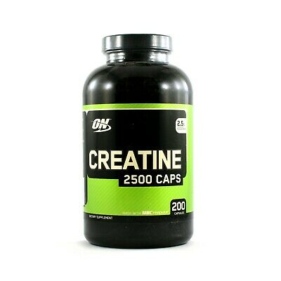 Optimum Nutrition Creatine 2,500mg  Fast-Release Muscle Support (200 Capsules)