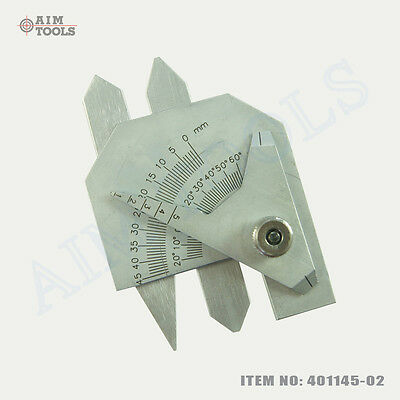 40114502 Welding Gauge Inspection Ruler For Boilers Pipes Gaps Tanks Testing