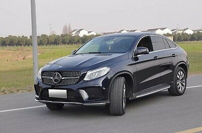 fit Mercedes Benz GLE coupe sport C292 2015-17 front grille mesh grill vent bar