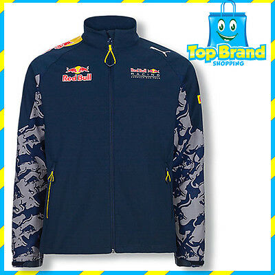 Puma Mens Red Bull Team Softshell Jacket Racing Car Winter Limited Sports