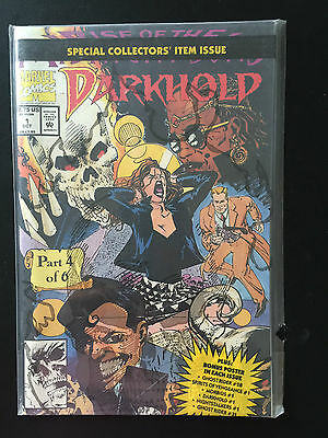 Box 26b, Comic Marvel, Darkhold, Part 4 of 6 # 1 Oct, Collector's Issue