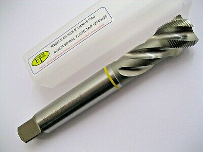 M20 x 1.0 SPIRAL FLUTE FINE PITCH HSS-E YELLOW RING TAP TM34162000 EUROPA TOOL