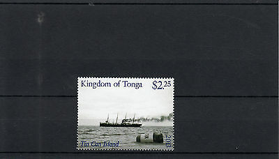 Tonga 2013 MNH Tin Can Island 1v Set Tin Can Mail Postal Services Ships