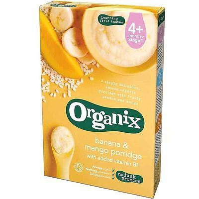 Organix Organic Banana & Mango Porridge 120g (Pack of 5)