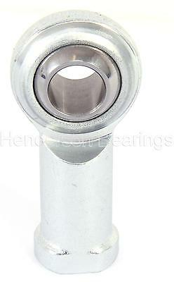 PHS12EC 12mm Rose Joint Female Rod End Bearing M12 Right Hand PTFE RVH