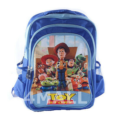 Kids Boys Toy Story Buzz Lightyear Woody Gift Backpack School Bag Xmas Large