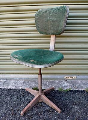 EVERTAUT Original Vintage Industrial Office Chair - /Factory/Military Chair