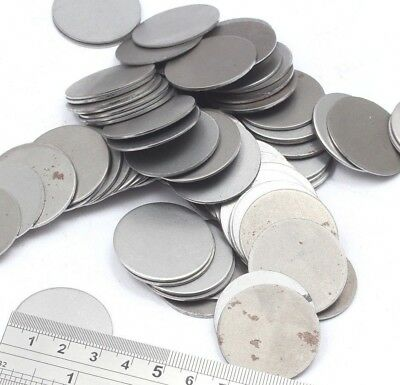 32mm Dia Mild Steel Blank Round Discs Clearance Bargain Old Stock Bargain Price