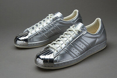 Details about Silver Snake adidas Originals Superstar 80s Size 8 S76415 New In Box Metallic