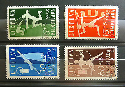 LITHUANIA 1938 Olympics SG420/3 Fine/Used NEW LOWER PRICE FP6678