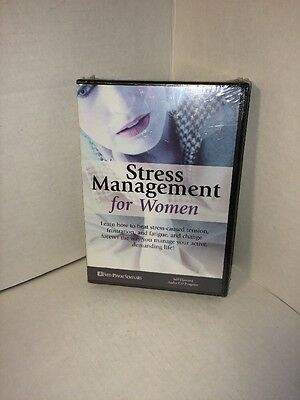 Stress Management For Women, Fred Pryor Seminars, Audio CD New, Free Shipping