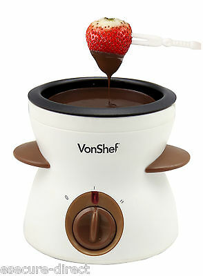 VonShef Electric Chocolate & Cheese Warmer/ Fondue