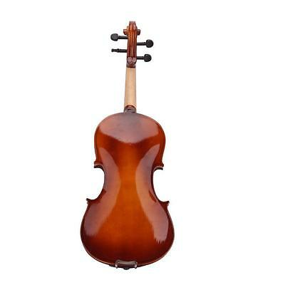 4/4 Full Size Natural Acoustic Violin Fiddle with Case Bow Rosin FP5