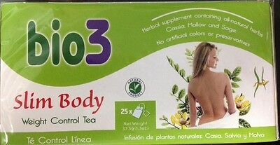 Bio3 Slim Body Weight Control Tea 25 bags