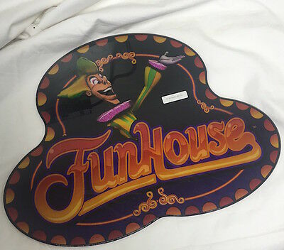 "Casino Slot Machine Topper Insert ""funhouse"" Williams"