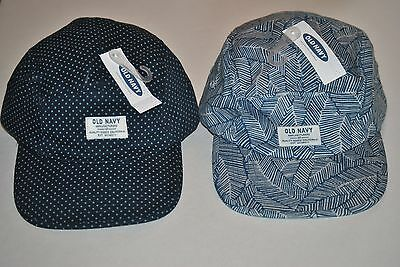 7d276be0f310 Men s Old Navy Blue Mini Stars and Palm Leaves Adjustable Hats One Size