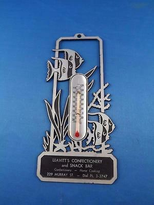 Advertising Thermometer Leavitt's Confectionery And Snack Bar Brantford Ontario
