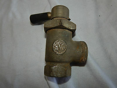 Vintage antique HS Co # 7 Adjustable modulating valve salvage plumbing steampunk