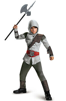 Brand New Renaissance Medieval Assassin Muscle Child Costume