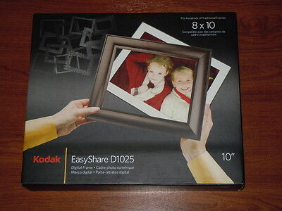 NEW in Box - Kodak EasyShare D1025 10 inch Digital Picture Frame - 041778443644