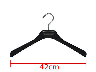 5x 10x JACKET HANGER Commercial Heavy Duty 420mm Jacket Clothing Coat!