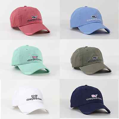 2017 Vineyard Vines Men & Women Whale Logo Golf Baseball Cap Hat For One Size