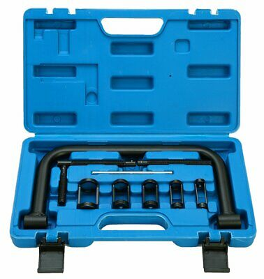 Auto Valve C Clamp Spring Compressor Pusher Kit esp. for Small Motorcycle Engine