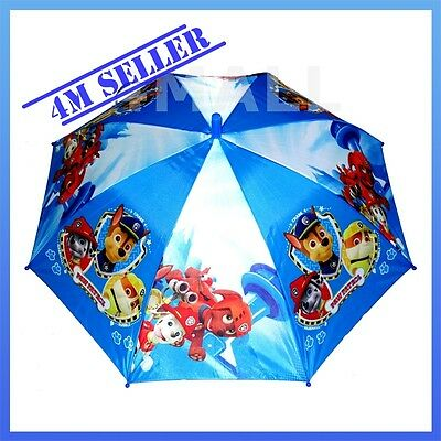 Kids Boys Paw Patrol Chase Marshall Rocky Rain Proof Umbrella Parasol Gift
