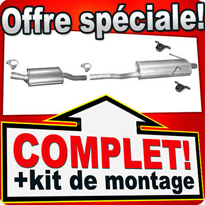 Echappement BMW 3er E46 316 318 1.9 BERLINE/COUPE/BREAK 1998-05 Silencieux N79