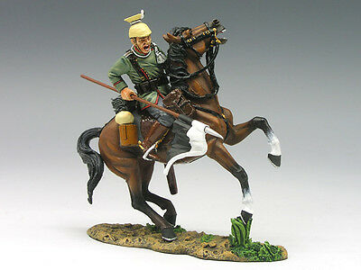 King and (&) Country FW038 - Uhlan on Rearing Horse - Retired