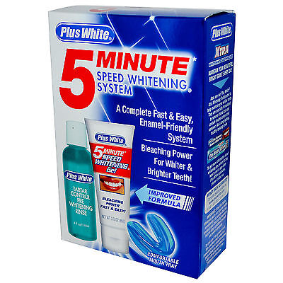 Plus White 5 Minute Speed Whitening Kit Blanchiment des Dents Blanchissant