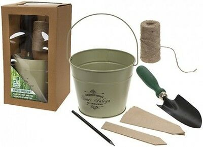 Garden Planter And Trowel Gift Set- Gift Box Ideal birthday or mother's Day