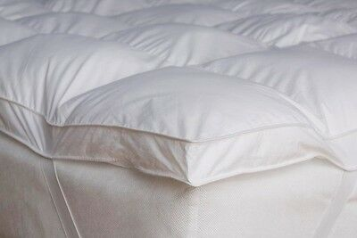 Duck Feather & Down ,Goose Feather & Down Mattress Quilted Boxed Topper Cover