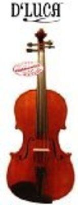 """New 16.5"""" D'Luca Orchestral Series Viola Flamed Maple back"""