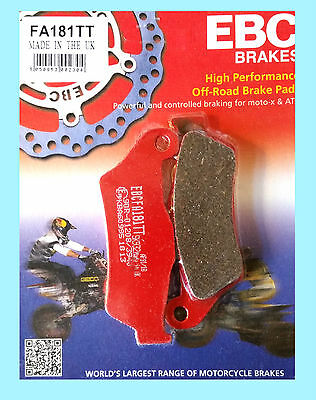 EBC FA181TT Carbon Rear Brake Pads  KTM 990 Adventure /S/R/ABS   2006 to 2012