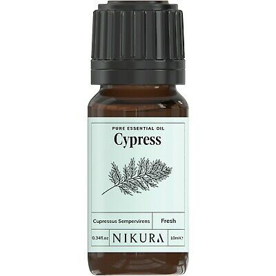 10ml CYPRESS ESSENTIAL OIL - 100% Pure and Natural (Aromatherapy)