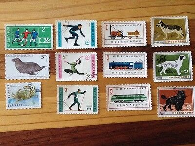 Assorted Stamps from Bulgaria