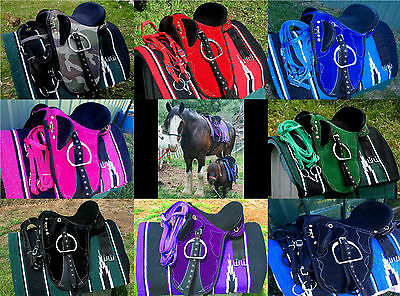 Stock saddles all  fully mounted +bridle,bit and saddle blanket