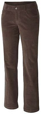 NEW Columbia Womens In the Distance Straight Leg Corduroy Pants Size 10 Reg $65