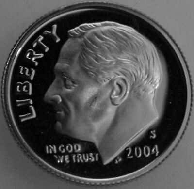 1997 S Roosevelt Dime Gem Deep Cameo CN Clad PROOF US Mint Coin Beautiful!