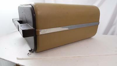 Vintage Green Brown Saga Model 900 Saf-D-Posit Heavy Weight Plastic Coated Safe