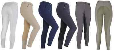 Shires Ladies Performance Full Seat Cambridge Breeches - 6 Colours - All Sizes