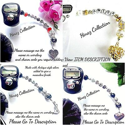 Personalised Tasbeeh, Tally Counter Stunning Gift For All Occasion/non Occasion
