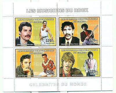 ROCK STARS - CONGO 2006 set perforated