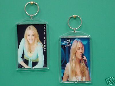 CARRIE UNDERWOOD - with 2 Photos - Designer Collectible GIFT Keychain 01