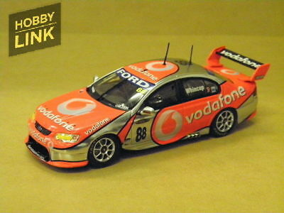 1:43 FORD BF FALCON TEAM VODAFONE (J.WHINCUP) 2007 #88 Carlectables 2088-2